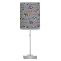 Mickey and the Roadster Racers Pattern Desk Lamp