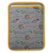 Mickey and the Roadster Racers Pattern iPad Sleeve