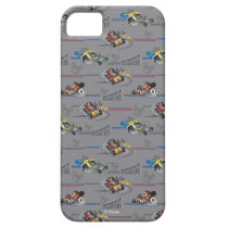 Mickey and the Roadster Racers Pattern iPhone SE/5/5s Case