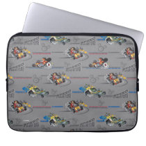 Mickey and the Roadster Racers Pattern Laptop Sleeve
