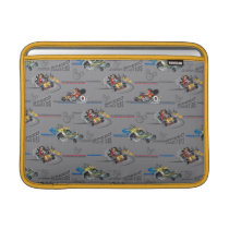 Mickey and the Roadster Racers Pattern MacBook Sleeve