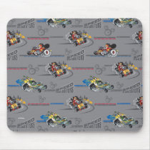 Mickey and the Roadster Racers Pattern Mouse Pad