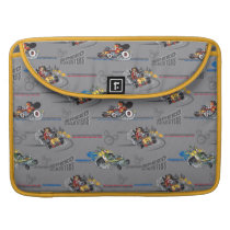 Mickey and the Roadster Racers Pattern Sleeve For MacBook Pro