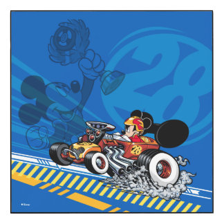 Mickey and the Roadster Racers | Speed Roadsters Wood Print