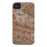Mickey antiguo 1 Case-Mate iPhone 4 cárcasas