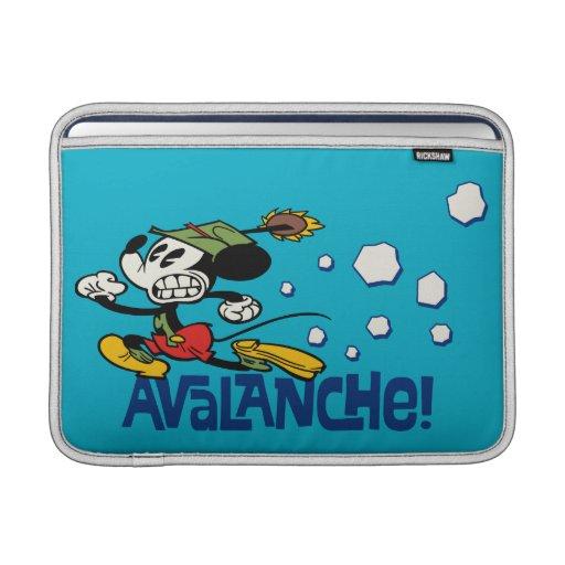 ¡Mickey - avalancha! Funda MacBook