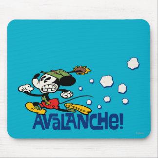¡Mickey - avalancha! Tapete De Ratón