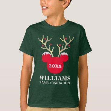 Disney Themed Mickey | Christmas Family Vacation T-Shirt