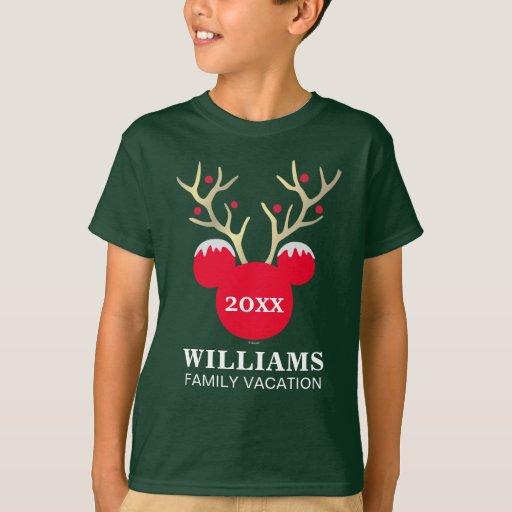 Mickey Christmas Family Vacation T-shirt