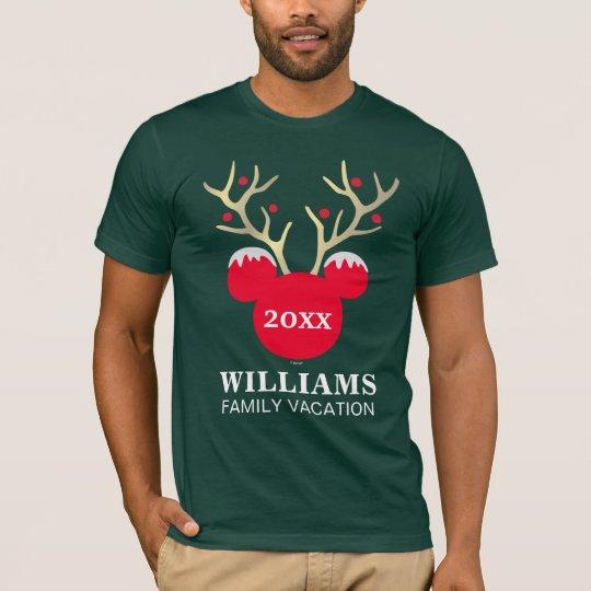 4f3e6f5872071 Mickey | Christmas Family Vacation T-Shirt | Zazzle.com