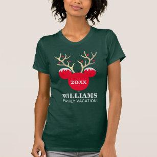 mickey christmas family vacation t shirt