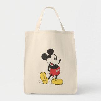 Mickey clásico bolsa tela para la compra