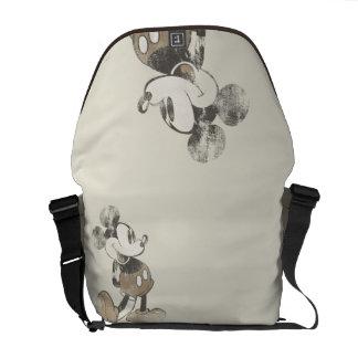 Mickey clásico el | apenado bolsas de mensajería