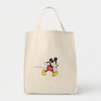 Mickey clásico el | enojado bolsa tela para la compra