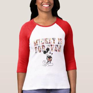 Mickey clásico el | para siempre camisas