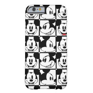 Mickey clásico hace frente funda de iPhone 6 barely there