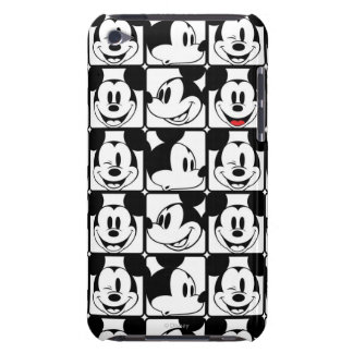 Mickey clásico hace frente barely there iPod carcasa