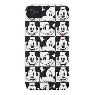Mickey clásico hace frente iPhone 4 cobertura
