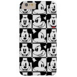 Mickey clásico hace frente funda de iPhone 6 plus barely there
