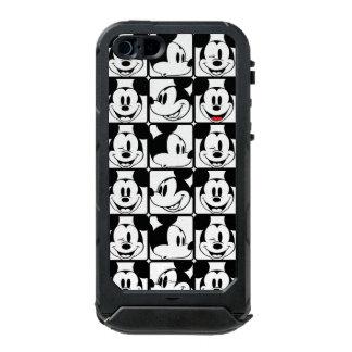 Mickey clásico hace frente funda para iPhone 5 incipio ATLAS ID
