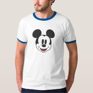 Mickey clásico hace frente playera