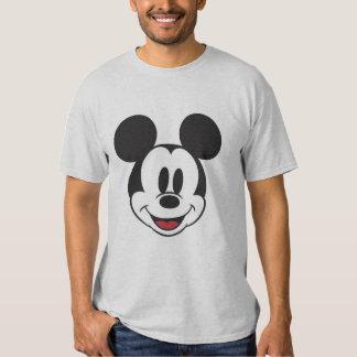 Mickey clásico hace frente playeras