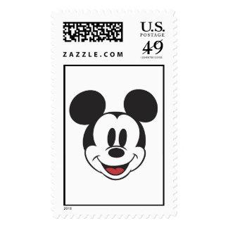 Mickey clásico hace frente franqueo