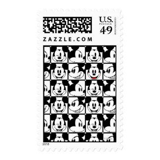 Mickey clásico hace frente sellos