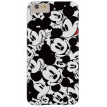 Mickey Crowd Pattern Barely There iPhone 6 Plus Case
