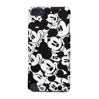 Mickey Crowd Pattern iPod Touch 5G Covers