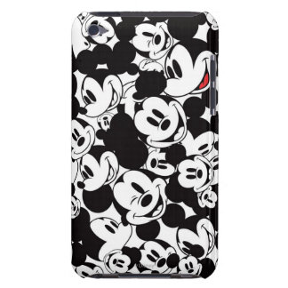 Mickey Crowd Pattern iPod Touch Cases