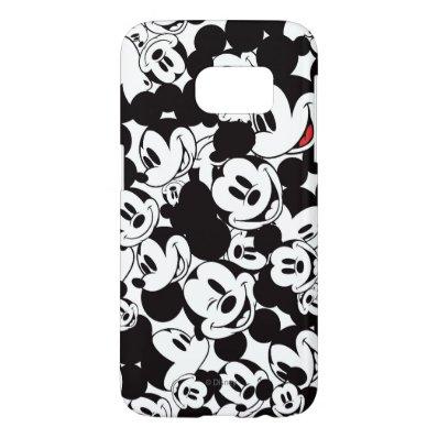 Mickey Crowd Pattern Samsung Galaxy S7 Case