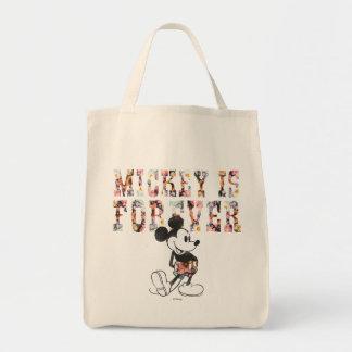 Mickey de moda el | para siempre bolsa tela para la compra