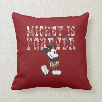 Mickey de moda el | para siempre cojín
