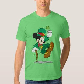 Mickey el Leprechaun Poleras