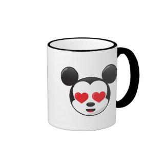 Mickey en amor taza de dos colores