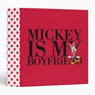 """Mickey es mi novio carpeta 1 1/2"""""""