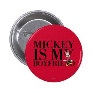 Mickey es mi novio pins