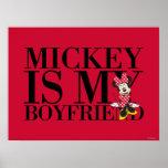 Mickey es mi novio poster