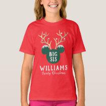 Mickey   Family Christmas - Sister T-Shirt