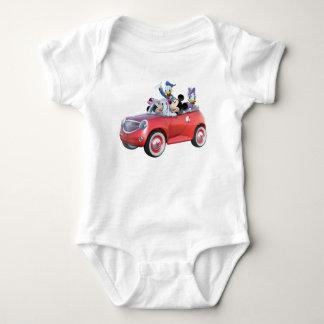 Mickey & Friends | Car Baby Bodysuit