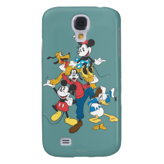 Mickey & Friends | Classic Group Galaxy S4 Cover