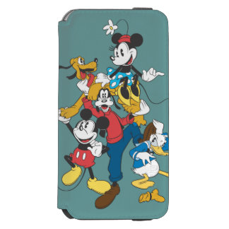Mickey & Friends | Classic Group iPhone 6/6s Wallet Case