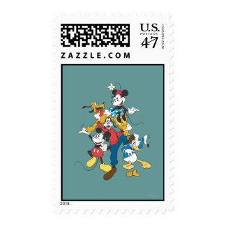 Mickey & Friends | Classic Group Postage Stamp