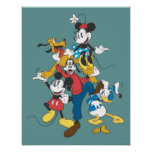 Mickey & Friends | Classic Group Poster