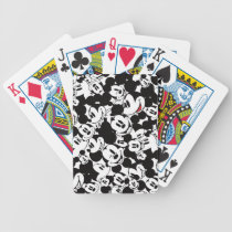 Mickey & Friends | Classic Mickey Pattern Bicycle Playing Cards