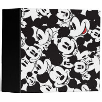 Mickey & Friends | Classic Mickey Pattern Binder