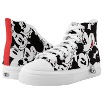 Mickey & Friends | Classic Mickey Pattern High-Top Sneakers