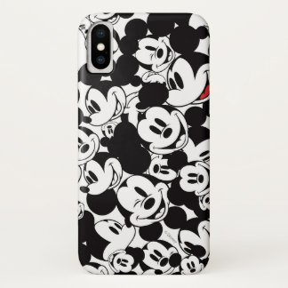 Mickey & Friends | Classic Mickey Pattern iPhone X Case