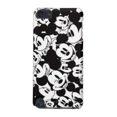 Mickey & Friends | Classic Mickey Pattern Ipod Touch 5g Case at Zazzle